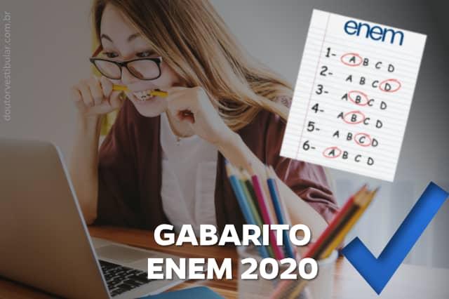 Gabarito Enem 2020